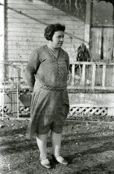 Ferde Greene Photo<br /> 3/12/1930 Elizabeth Greene<br /> 2474