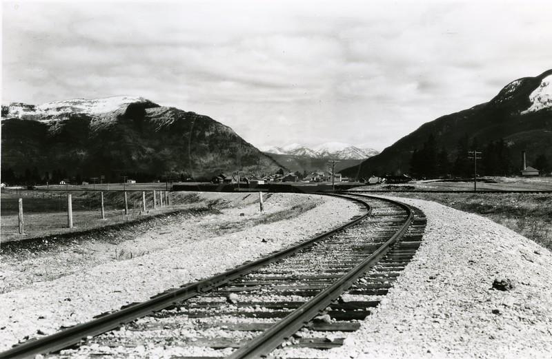 Ferde Greene Photo<br /> 4/17/1920, Y in Columbia Falls, Montana<br /> 3314