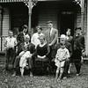Ferde Greene Photo<br /> 8/23/1926 L John Jordan, Ratchel, Elizabeth, Tom, Susy, Dorothy - FL Al Jordan, Eva, Grandpa Jordan civil war vet - FL Bob Jordan, Mary Jordan<br /> 4428