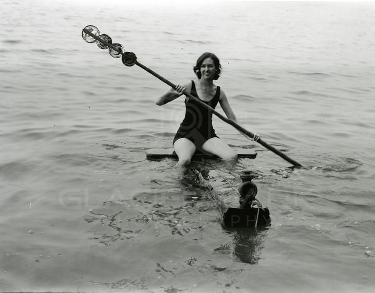 Maurine Lucille Thomas Smith Kayaking