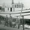Howard James Tugboat built in 1901, rebuilt in 1913<br /> Somers Lumber Company, Flathead Lake, Montana