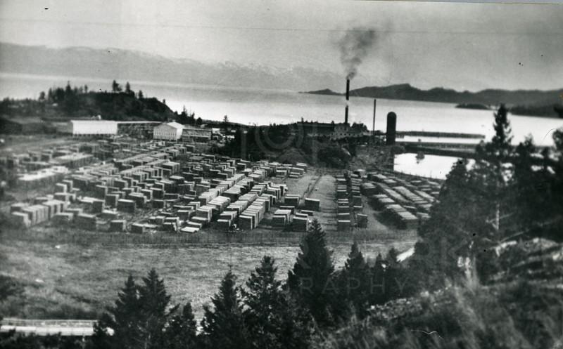 Somers Lumber Company Sawmill 1927