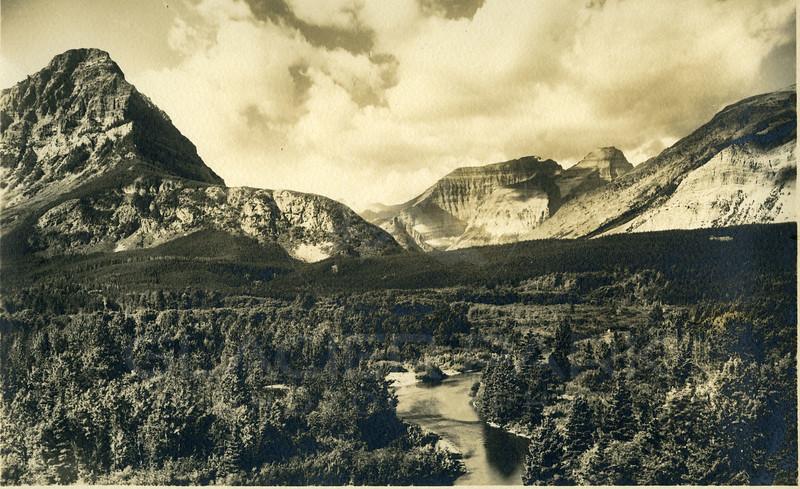 Glacier Valley - 1920's<br /> R E Marble Photo<br /> MA-009