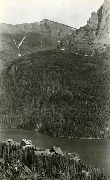 St. Mary Lake Historic Chalets