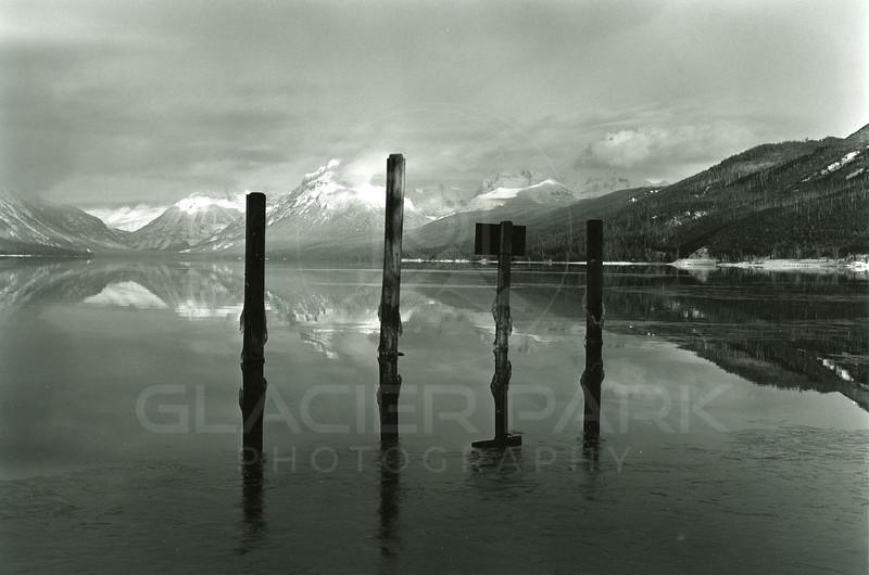 Lake McDonald<br /> E B Gilliland Photo<br /> T21568