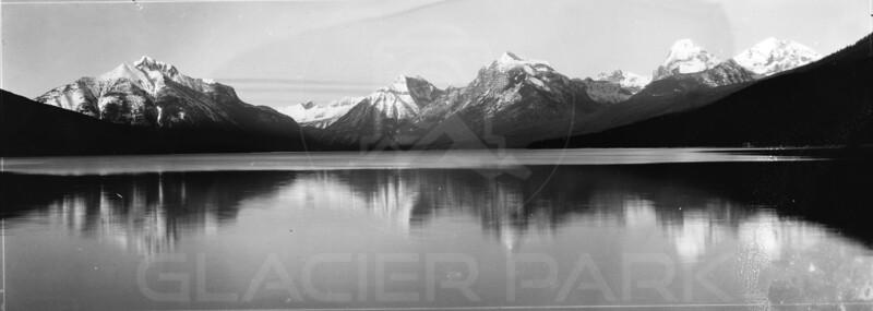 Lake McDonald 1920's<br /> R E Marble Photo<br /> MA-049