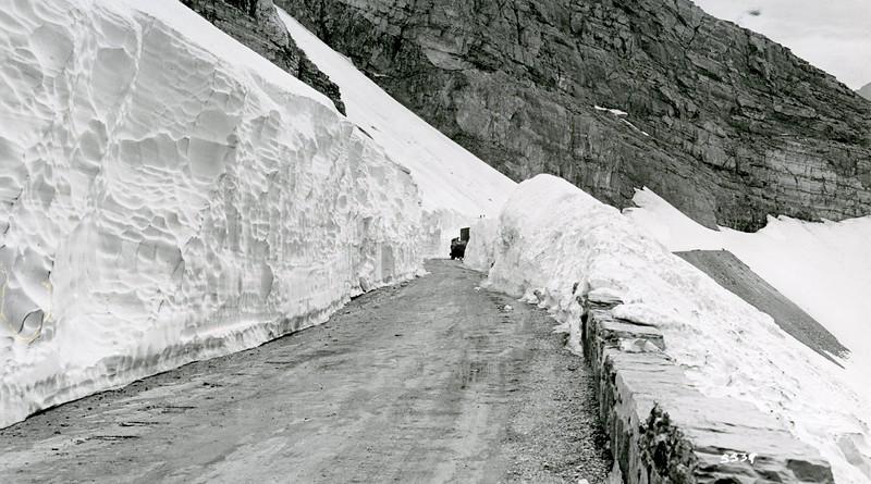 Ferde Greene Photo, 6/5/1938, Going to the Sun Highway