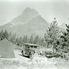 Ferde Greene Photo, 7/25/1936, Many Glacier Campground, Victory Six
