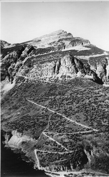 Swift Current Pass - 1920's<br /> R E Marble Photo<br /> MA-019