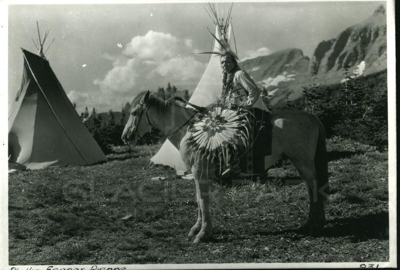 Phillip Eeneas Rienne, Blackfoot Indian<br /> 831