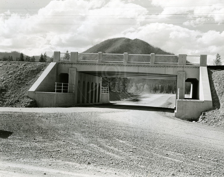 Underpass into West Glacier 1925