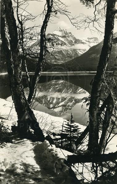 Mt Cannon Lake McDonald, Glacier National Park<br /> Photo by Hileman<br /> 201