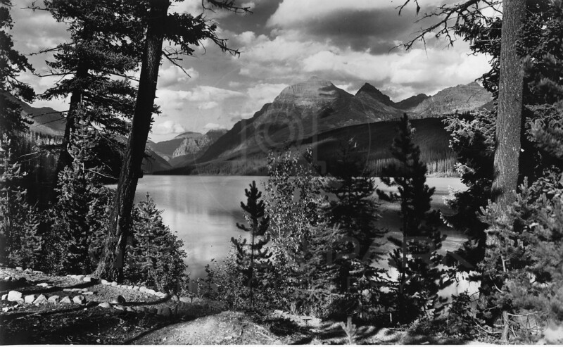 Bowman Lake<br /> R E Marble Photo<br /> MA-001