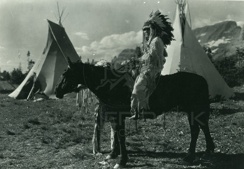 Blackfeet Indian Camp Glacier National Park