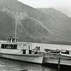 Ferde Greene Photo<br /> 8/18/1918, Lewtana Boat, West Glacier, Montana, Lake McDonald, Glacier National Park, Montana<br /> 4267