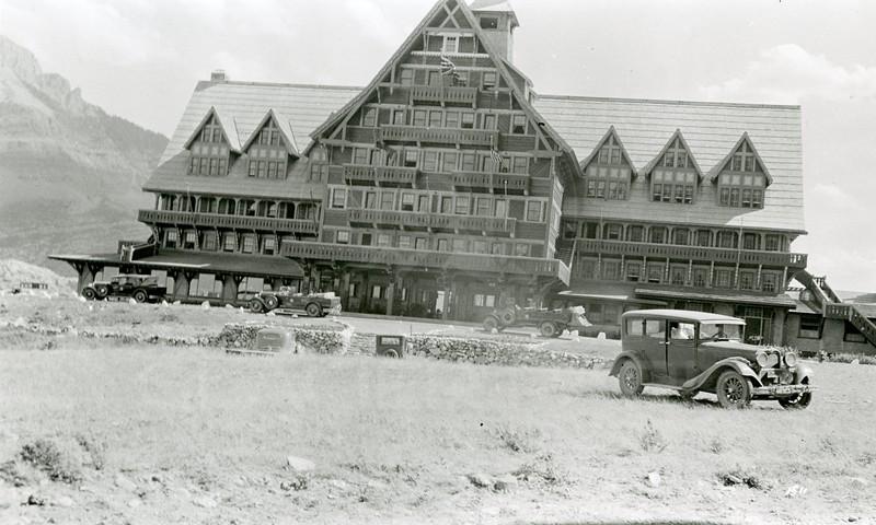 Ferde Greene Photo, 7/24/1936, Prince of Wales Hotel, Waterton