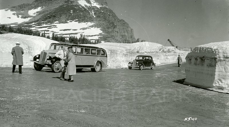 Ferde Greene Photo, 6/20/1938, 11 AM, f16, 1/25, Logan Pass