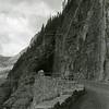Ferde Greene Photo, 8/9/1940, East Side Tunnel, Glacier National Park