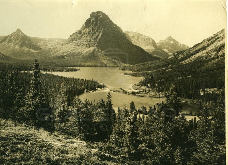 Above Two Medicine Lake
