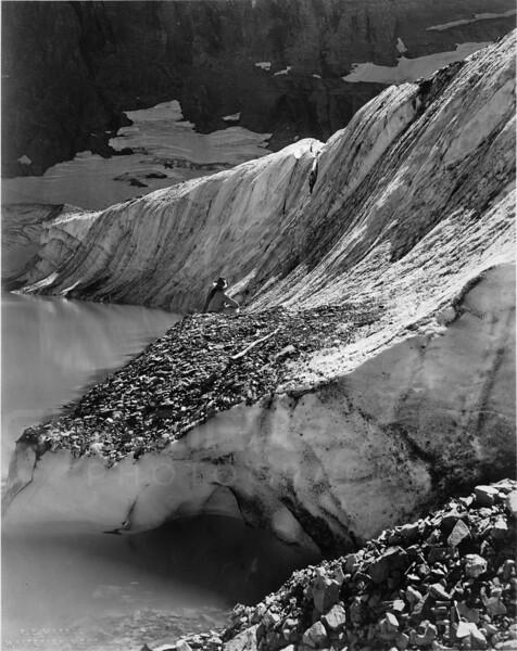 1915 Iceburg Lake, Glacier National Park