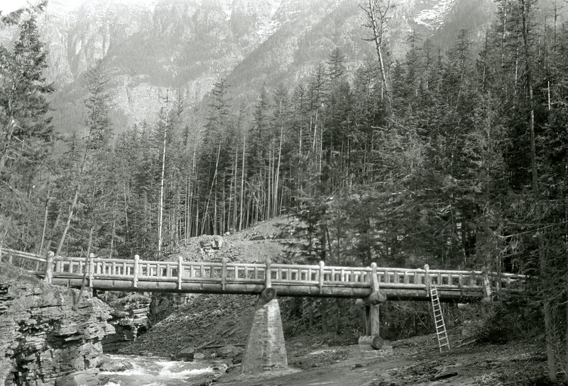 McDonald Creek Pack Bridge