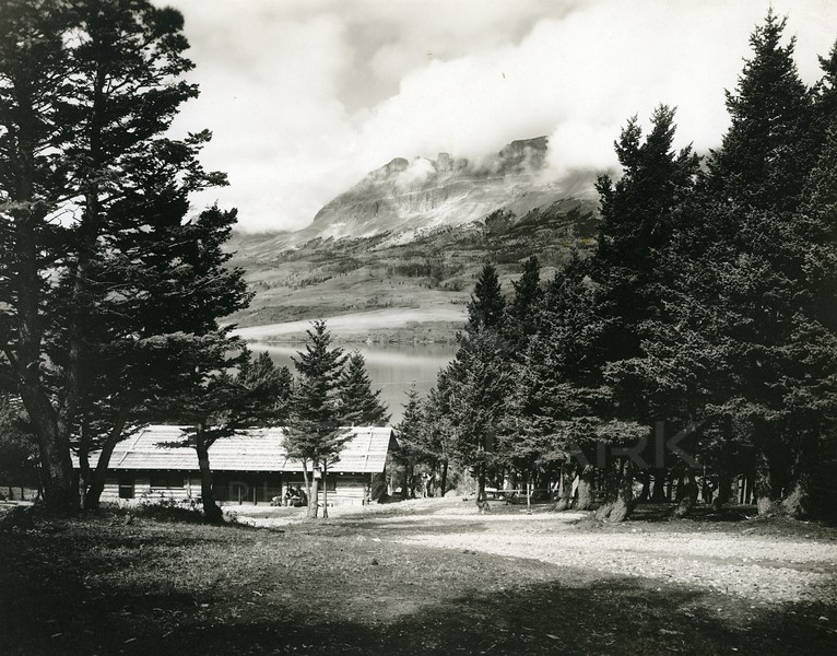 Sun Camp 1912 Glacier National Park