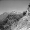 Heavens Peak from Going to the Sun Highway  1930's<br /> R E Marble Photo<br /> MA-0126