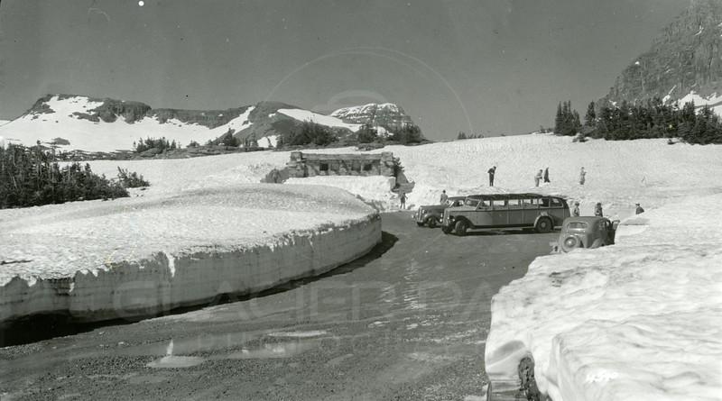 Ferde Greene Photo, 6/20/1938, Logan Pass
