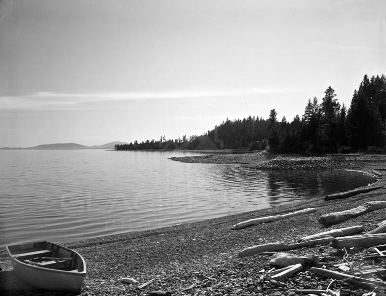 Boating on Lake McDonald