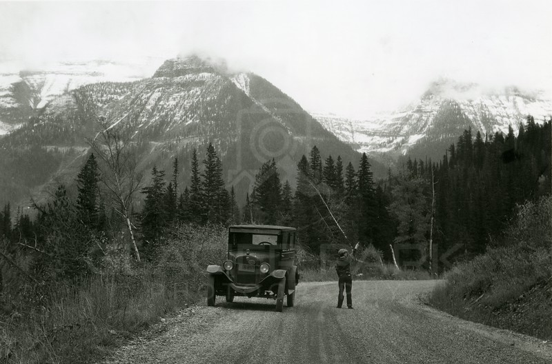Going to the Sun Highway 1930
