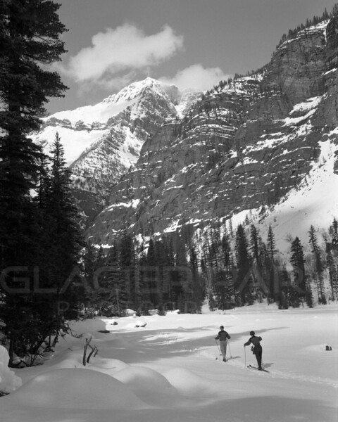 Cross Country Skiing in Glacier National Park
