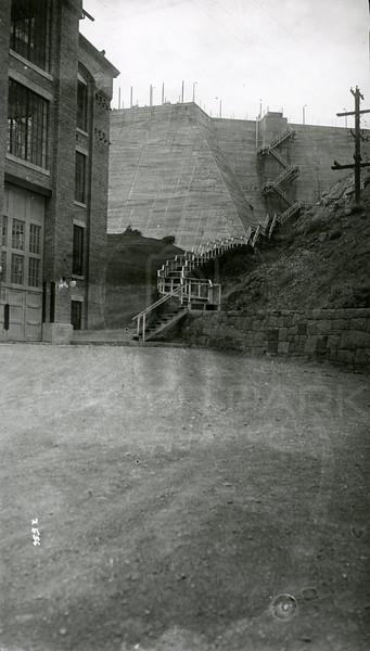 Ferde Greene Photo, 11/5/1939, Power House & Dam, Great Falls