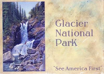 Hand Tinted Glacier