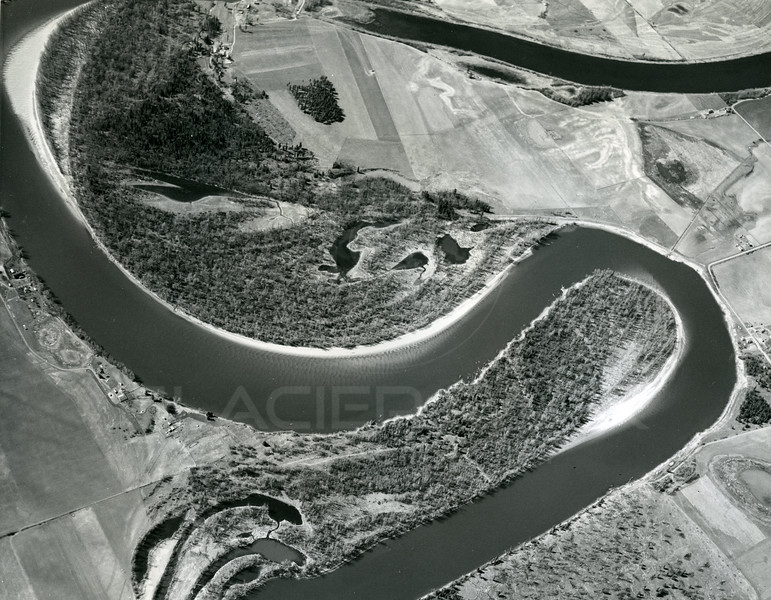 Aerial View of Flathead River