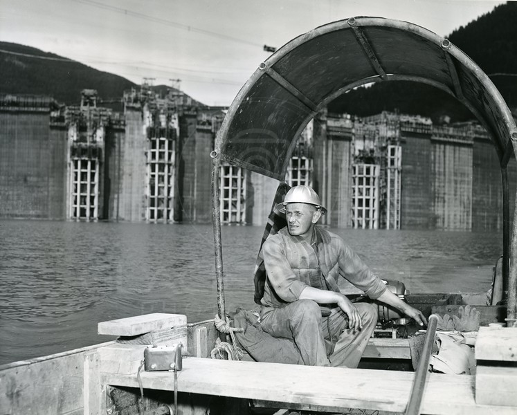 Worker on the Reservoir