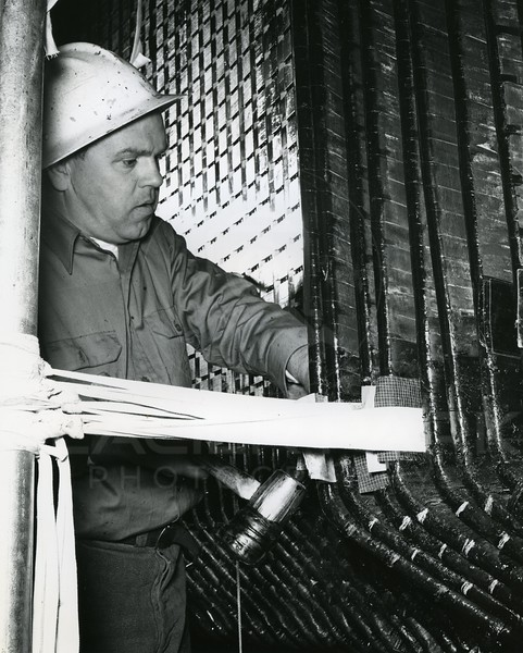 Worker in the Dam