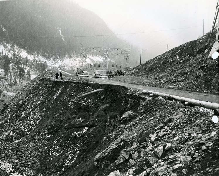 Photo by Bureau of Reclamation<br /> Hungry Horse Dam Project, Montana<br /> HH5839