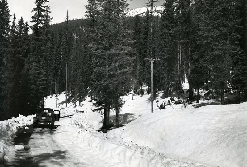 Winter near the Dam