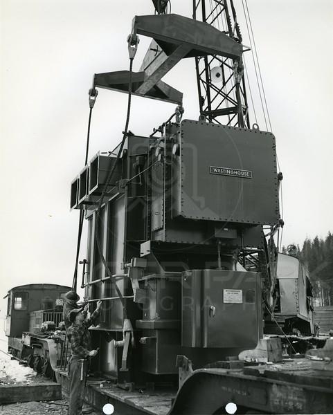 Hungry Horse Dam Equipment