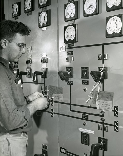 Control Room of the Dam