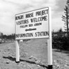 Hungry Horse Dam Project Visitors Welcome