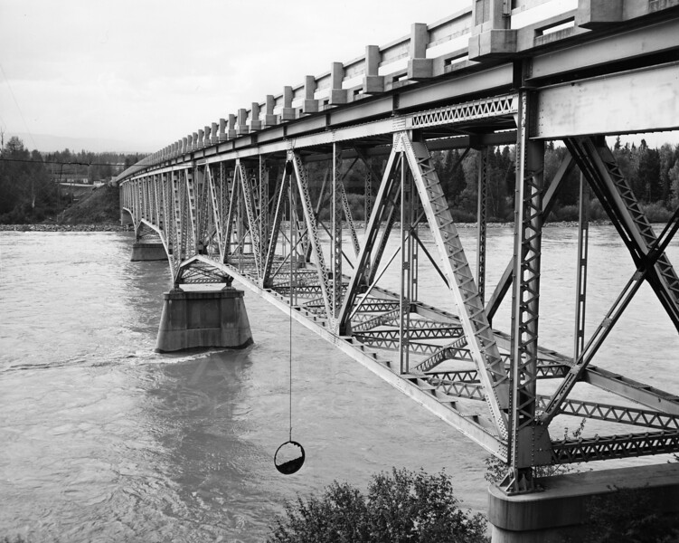 Flathead River after dam release