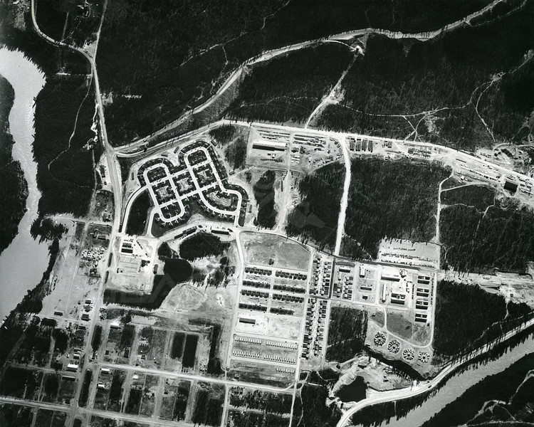 Aerial View of Hungry Horse Camp