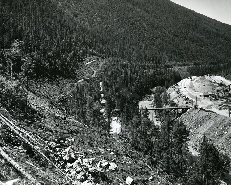 Hungry Horse Dam Gravel Pit