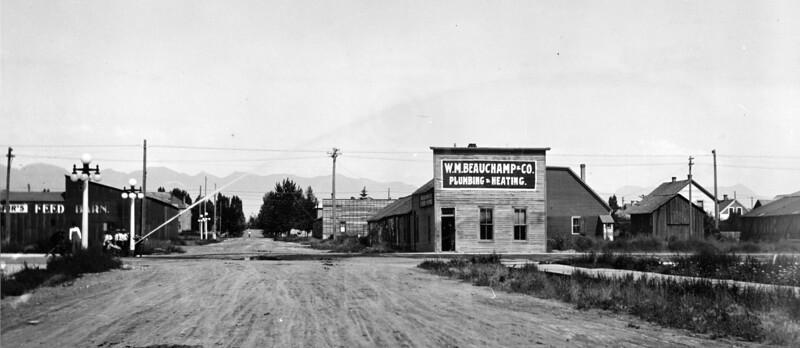 Kalispel 1920's Testing Fire Hydrants