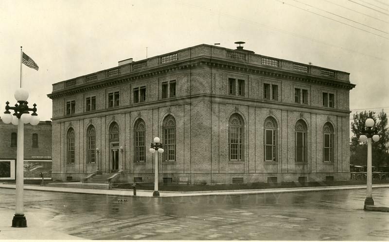 Kalispell LIbrary Historic Photo