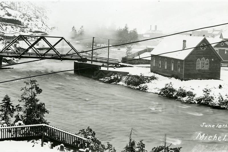 Ferde Greene Photo<br /> 6/16/1914<br /> Michel BC 8 inch snow<br /> 330