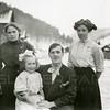 Ferde Greene Photo<br /> 3/2/1913 4PM<br /> LTR Annie Gregory, Emily Gregory, George Gregory, Elizabeth Gregory Greene<br /> 3102