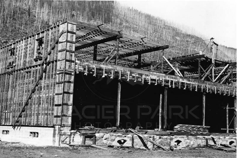Ferde Greene Photo<br /> New Store building Michel BC 6/28/1914<br /> 6186