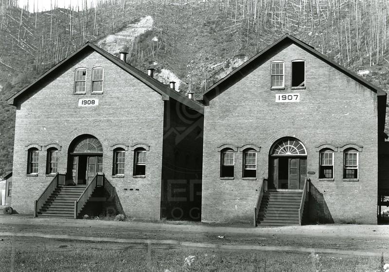 Ferde Greene Photo<br /> 8/7/1912<br /> Power House CNPC Co Michel BC<br /> 1/25 f11<br /> 248